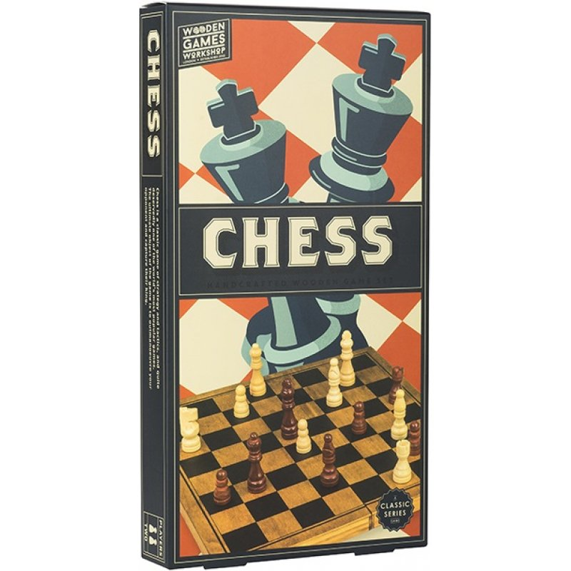 WOODEN GAME CHESS